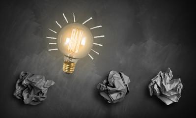 viele Versuche führen zur großen Innovation