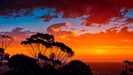 Iconic South Australian sunset