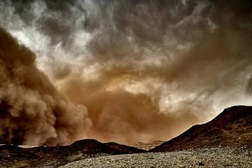 Fototapeta Sandsturm - Israel Timna-Park