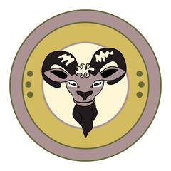 bock bier bok illustratie voor op flyer logo etiket of biervilt