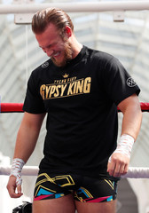 Boxing - Carl Frampton & Tyson Fury Public Work Outs