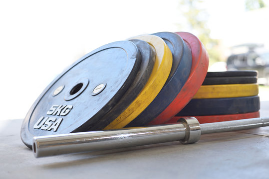 Rubber bumper weights