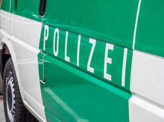 Polizeistreife Auto
