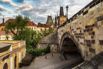 Charles Bridge and Lesser Town Tower