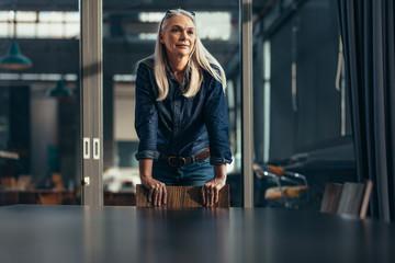 Portrait of successful senior businesswoman