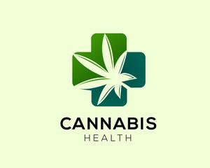 cannabis cross logo
