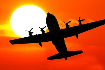 military aircraft hercules