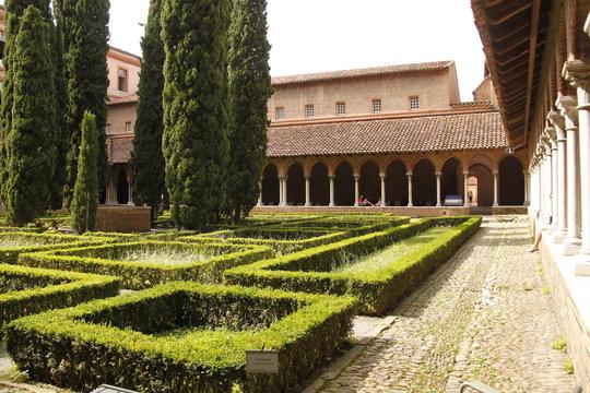 Jardin du couvent des Jacobins à Toulouse, Haute Garonne