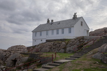 Old lighthouse keeper's home