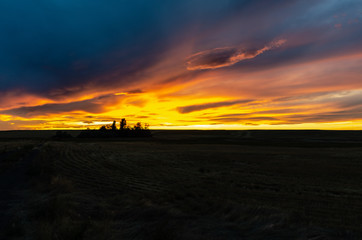 Sunset on the Palouse