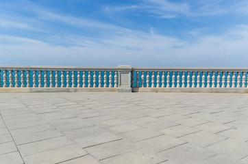Beach promenade in Cadiz Wall mural