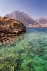 Coastal Khasab Scenery in Oman