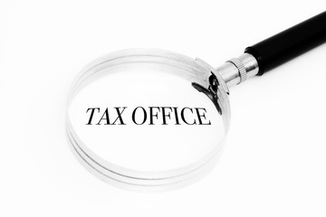 Tax office in the focus