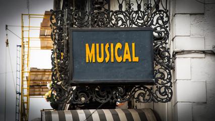 Schild 347 - Musical