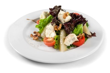 Salad with Cheese and Pears