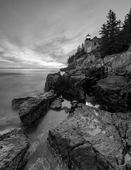 Lighthouse Bass Harbor in Maine