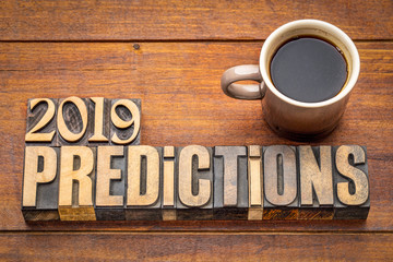 2019 prediction concept