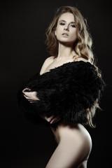 seductive female figure