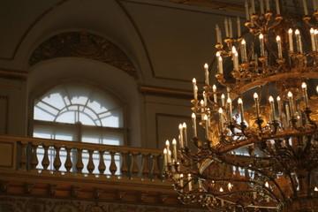 Ancient chandelier