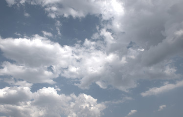 Cielo parcialmente nublado
