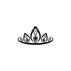 Diadem icon. Diadem element icon. Premium quality graphic design icon. Baby Signs, outline symbols collection icon for websites, web design, mobile