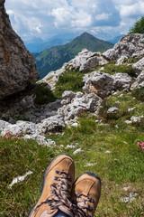 The Giau Pass, South Tyrol.( Passo di Giau )