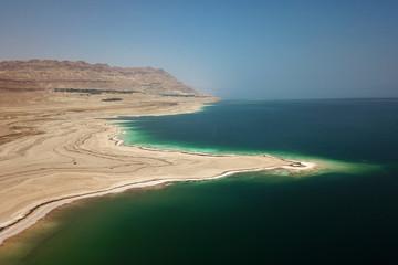 Aerial of Dead Sea