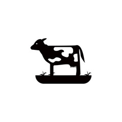 calf icon. Element of farm for mobile concept and web apps. Icon for website design and development, app development. Premium icon