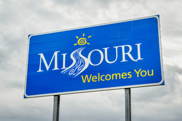 Missouri Welcomes You roadside sign
