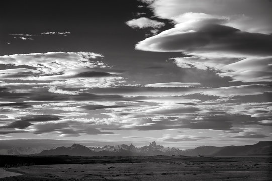 Clouds at sunset;  Patagonia;  Argentina;  South America