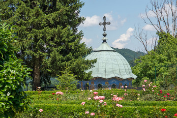 buildings of the nineteenth century in Sokolski Monastery Holy Mother's Assumption, Gabrovo region, Bulgaria