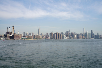 Manhattan from East River