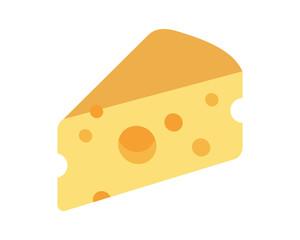 Cheese image vector icon logo