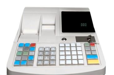 Close-up of Cash Register