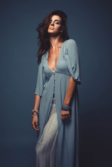 summer fashion woman portrait