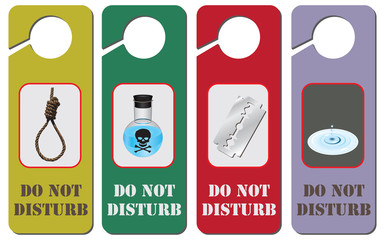 Do not Disturb for suicide