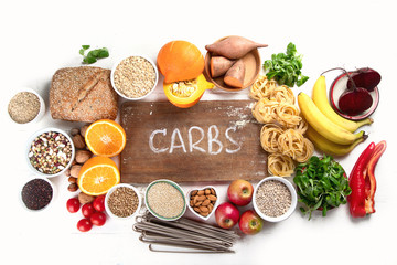 Foods high in carbohydrates