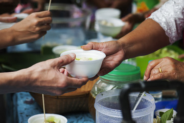 Feeding the poor to help and share