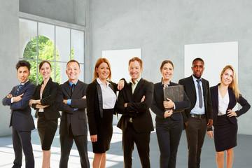 Gruppe Business Unternehmer als Team