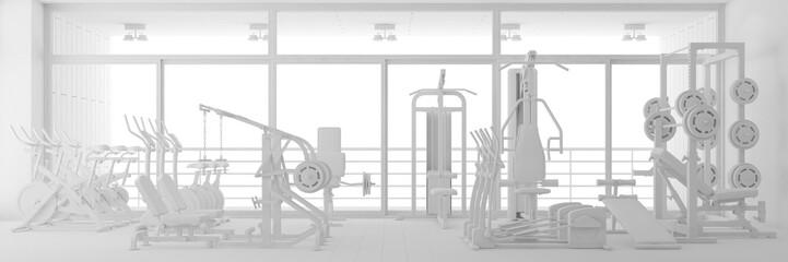 CAD Planung von Fitnesscenter