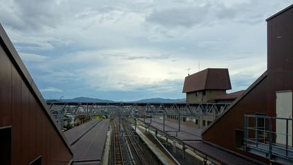 日本 京都 嵯峨嵐山駅 Japan Kyoto Saga Arashiyama Station