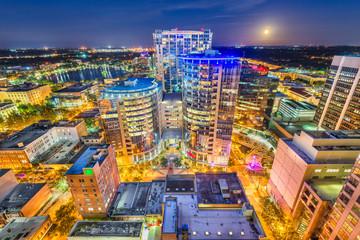 Fototapete - Orlando, Florida, USA Skyline