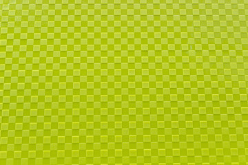 Green plastic pattern as background