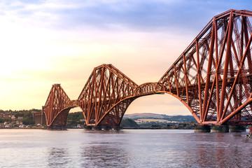 Printed roller blinds Bridge The Forth bridge Edinburgh