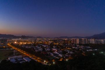 Sunset at Recreio dos Bandeirantes, Rio de Janeiro