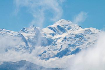 Le Mont-Blanc depuis Chamossière (Joux Plane, Samoëns, Les Gets)