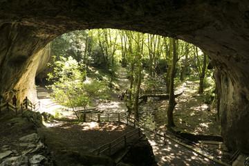 Cuevas de Zugarramurdi, en Navarra