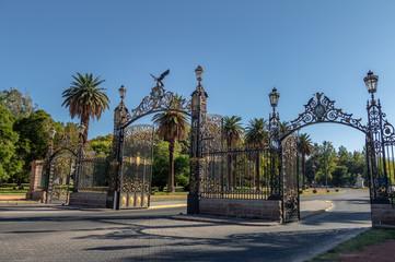 Park Gates (Portones del Parque) at General San Martin Park - Mendoza, Argentina