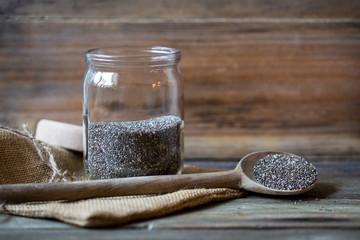 Chea seeds in jar