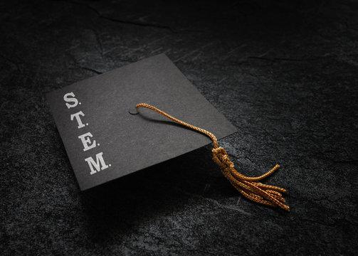 STEM graduation cap